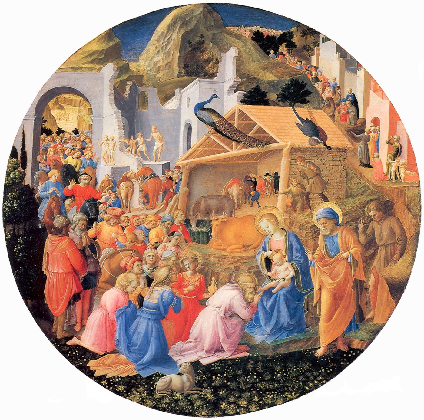 Adoration of the Magi b